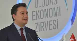 Ali Babacan Uludağ Ekonomi Zirvesi'nde Dünya Konjonktürünü Değerlendirdi