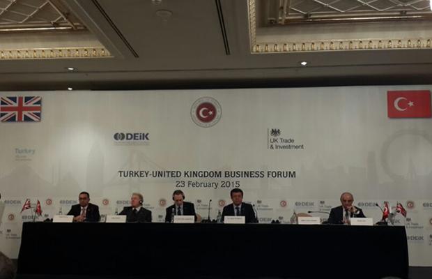 Turkey-UK Business Forum'da Türk ve İngiliz KOBİ'leri Konuşuldu