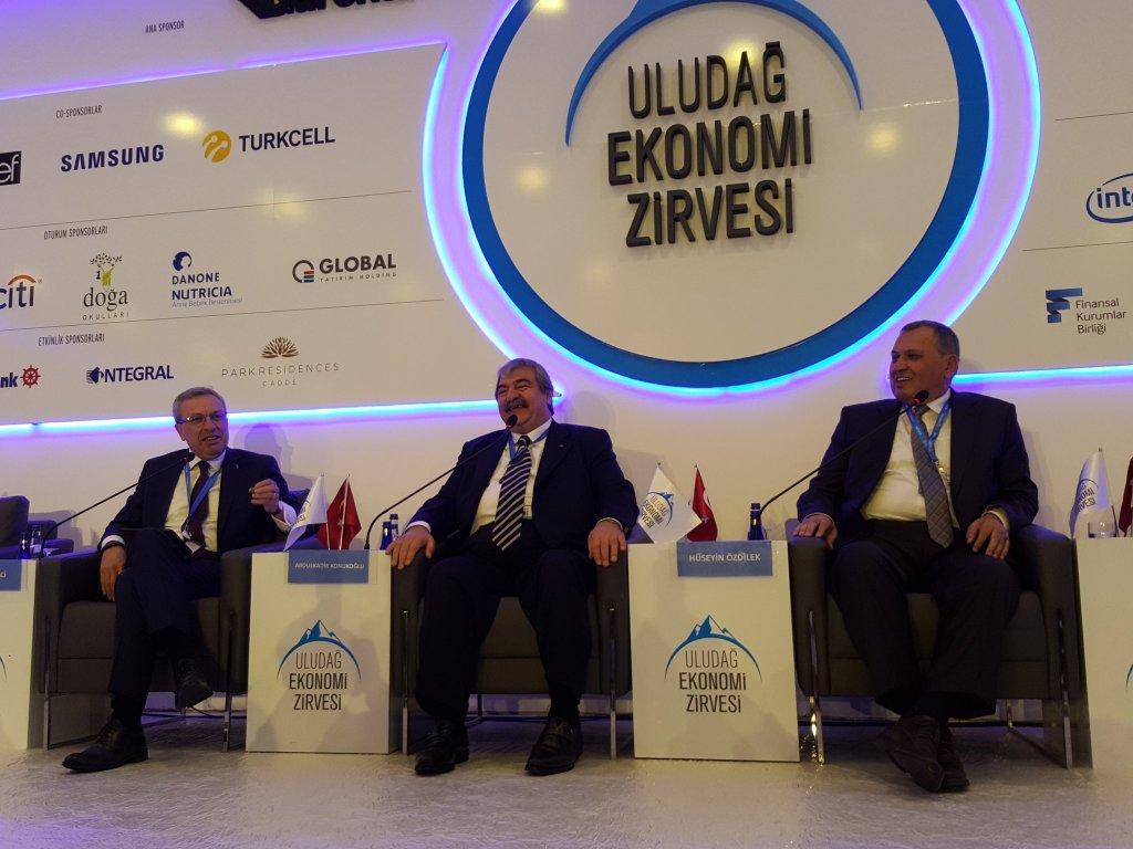 """Uludağ Ekonomi Zirvesi'nden Notlar - 2 - """"Bankacılık ve Reel Sektör"""" Paneli"""