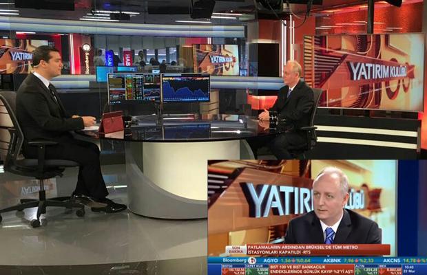 Barış Öney, Bloomberg HT'de Yatırım Kulübü Programına Konuk Oldu