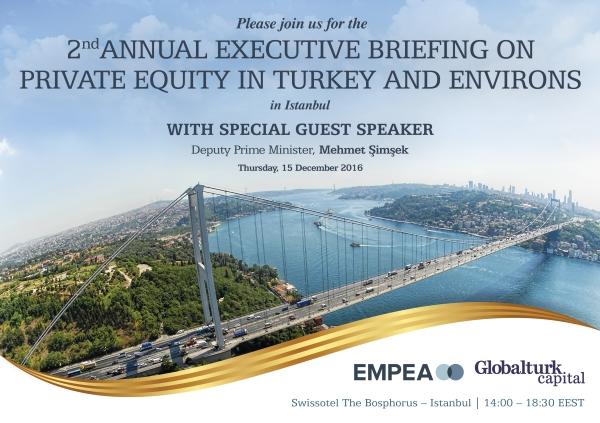 2. Yıllık Türkiye ve Çevresindeki Özel Sermaye Fonları Yatırımları Brifingi