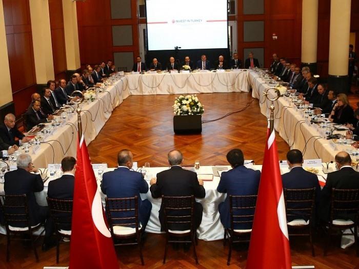 Cumhurbaşkanı Erdoğan Amerikalı Yatırımcılarla Görüştü | Turkishny.com