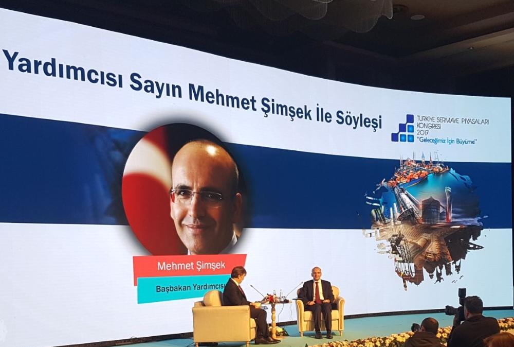Türkiye Sermaye Piyasaları Kongresi 2017 – Mehmet Şimşek Söyleşisi